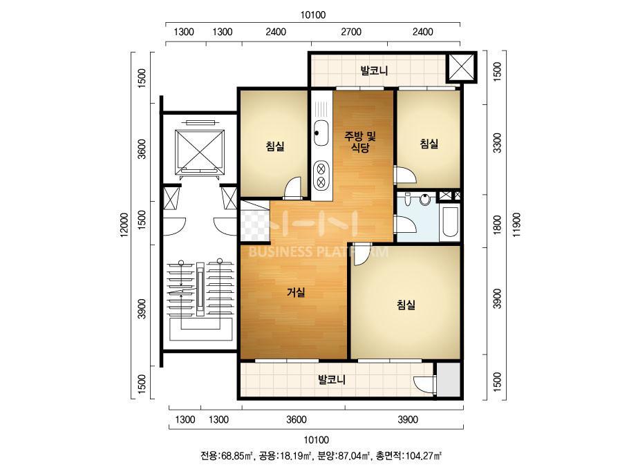 창원 반림 현대아파트 26평 리모델링 - 주거공간 - 디자인남편 ...